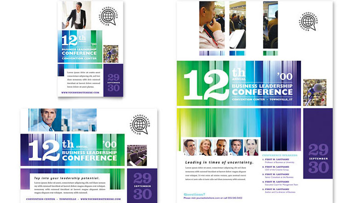 Conference Flyer Templates  Af Templates