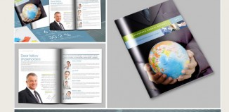 5 Indesign Annual Report Template