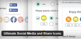 5 Best Social Media Icons Wordpress Plugins