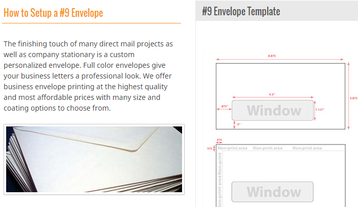 Indesign Envelope Template  Af Templates