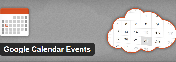 Google Calendar Events WordPress Plugins