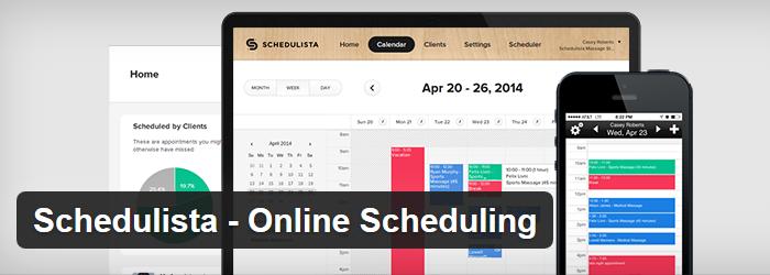 Schedulista – Online Scheduling