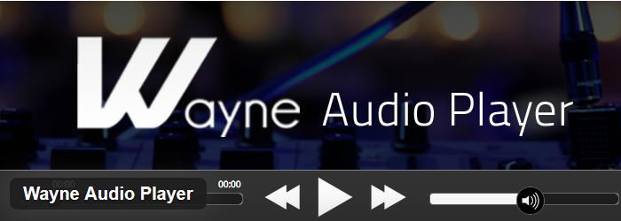 Wayne Audio Player