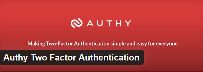 Authy Two Factor Authentication