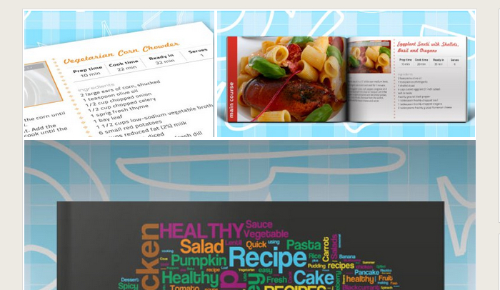 5 Indesign Cookbook Template | AF Templates