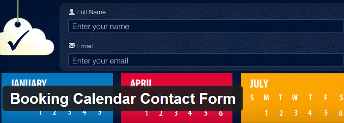 Booking Calendar Contact Form