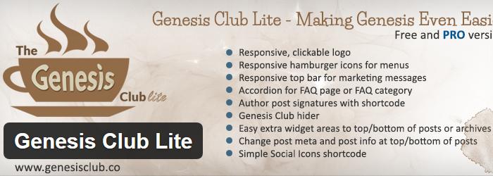 Genesis Club Lite