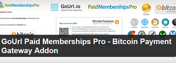 GoURL Paid Memberships Pro