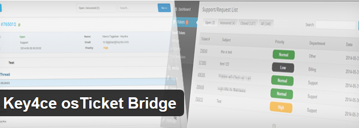 Key4ce osTicket Bridge