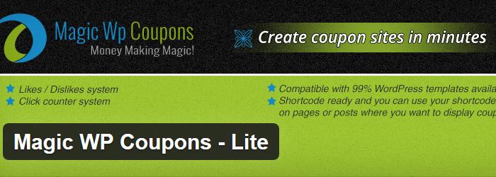 Magic WP Coupons – Lite