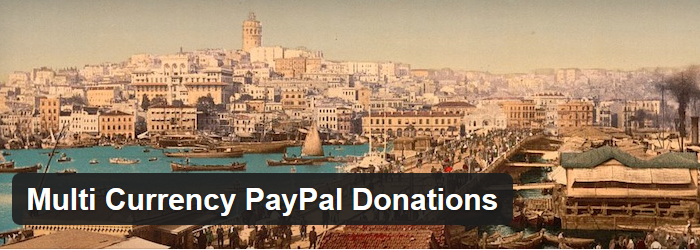 Multi-Currency PayPal Donation Plugin