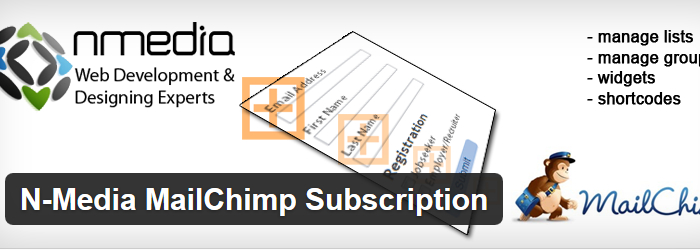 N-Media MailChimp Subscription
