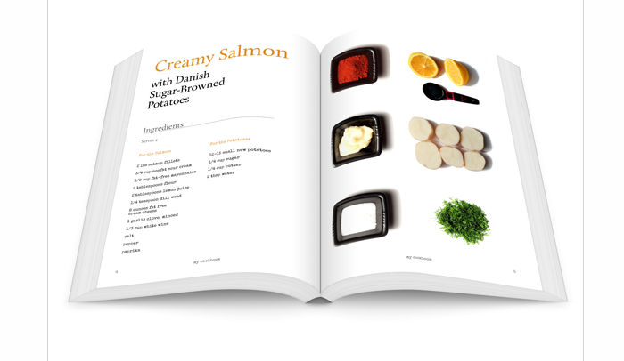 Indesign Cookbook Template AF Templates - Adobe indesign cookbook template