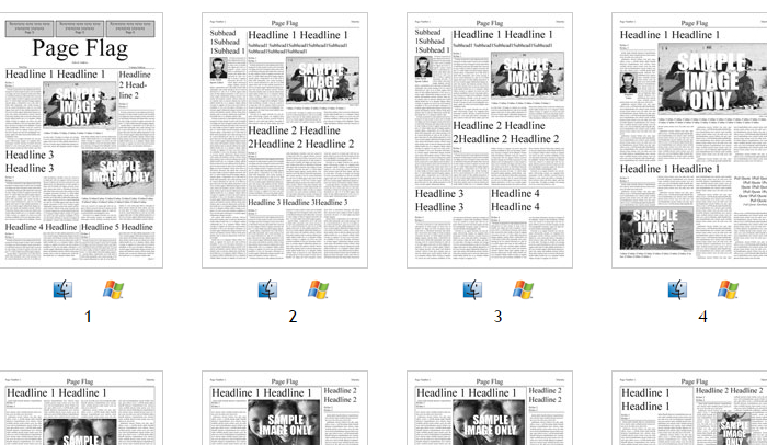 Jsprinting This Website Offers Almost 200 Newspaper Templates For Indesign
