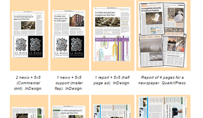 6 free indesign newspaper templates af templates wapkidclub pronofoot35fo Gallery