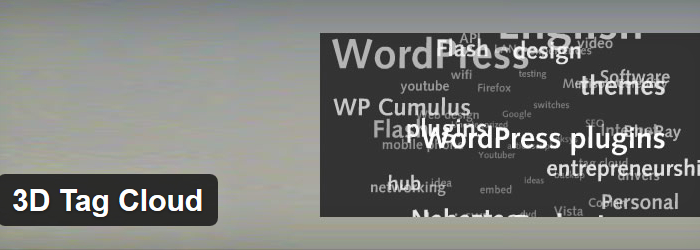 3D WP Tag Cloud
