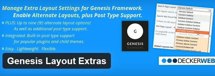 Genesis Layout Extras
