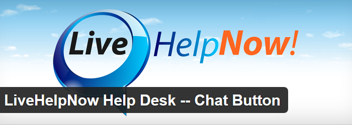 Live Help Now Help Desk & Chat Button