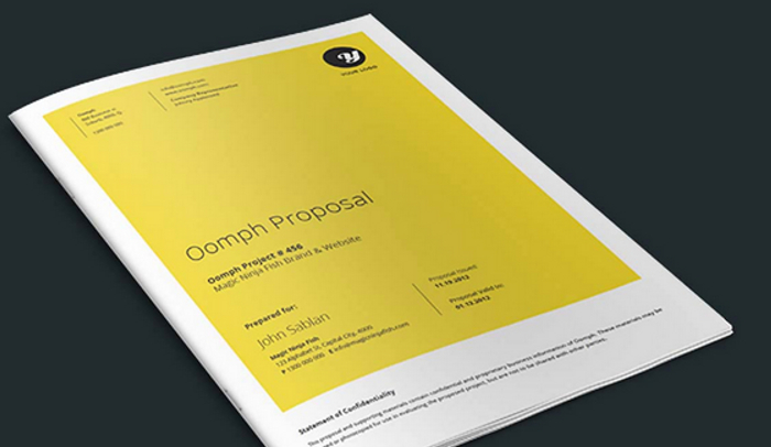 6 Indesign Proposal Template Af Templates