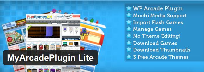 MyArcade Plugin Lite