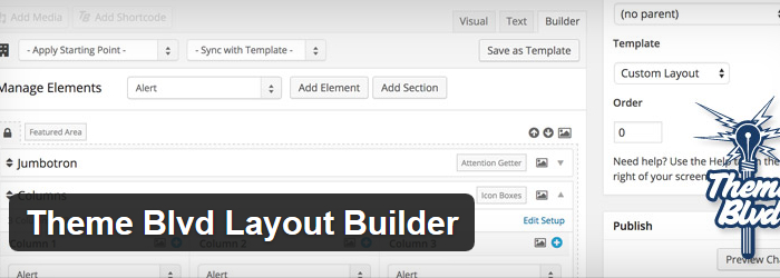 Theme Blvd Layout Builder