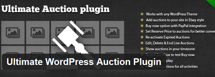 Ultimate Auction Plugin