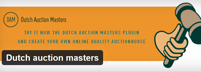 WordPress Dutch Auction Masters plugin