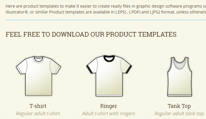 Great Indesign T Shirt Template AF Templates - Design a shirt template