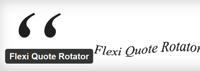 Flexi Quote Rotator