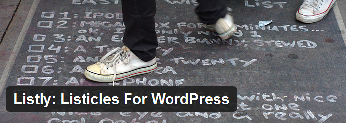 Listicles For WordPress