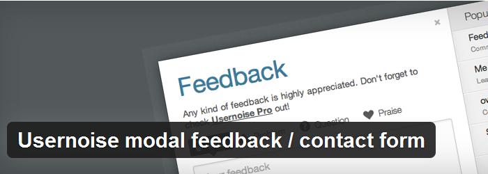 Modal Feedback Form