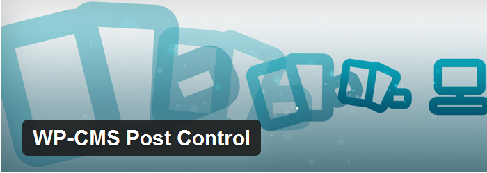 WP-CMS Post Control