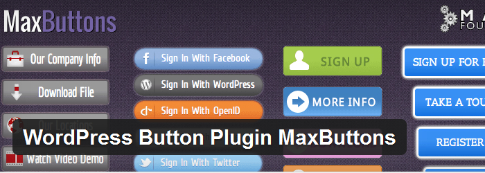 Maxbuttons WordPress Button Generator