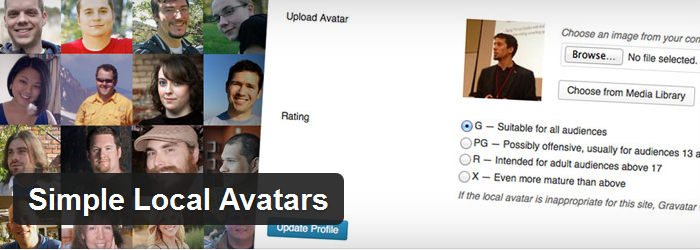 Simple Local Avatars
