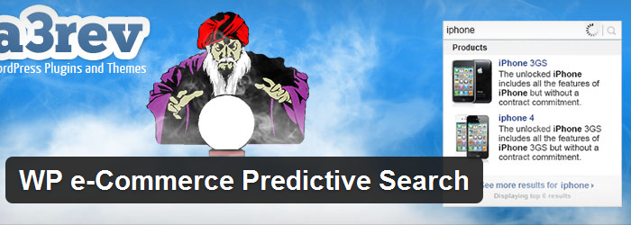 WP e-Commerce Predictive Search