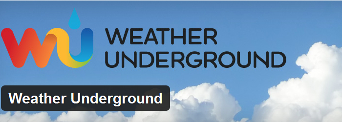 Weather Forecast-WP Wunderground