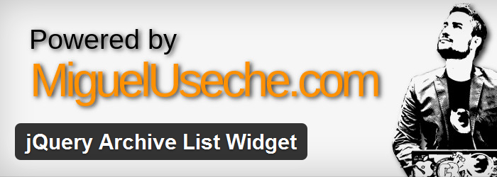 jQuery Archive List Widget