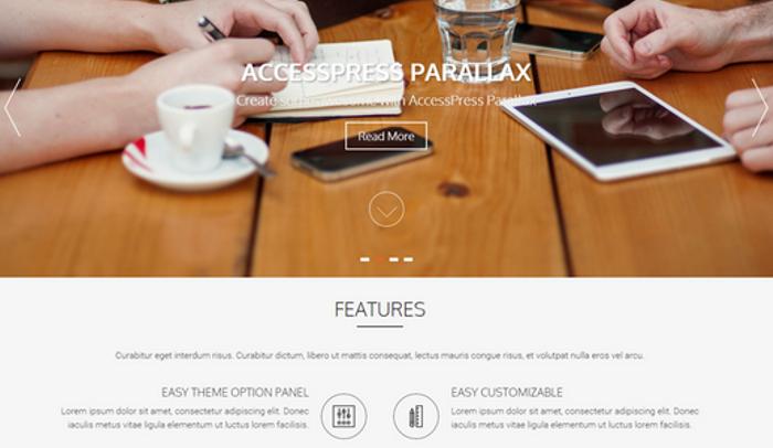 AccessPress Parallax